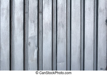 old corrugated metal sheet