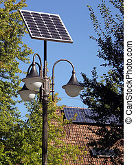 Photovoltaics. - Solar panels in the near future source of...