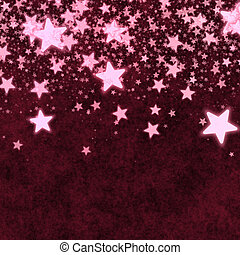 Christmas red stars background