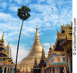 Shwedagon Pagoda, Yangon, Myanmar - The Shwedagon is The...