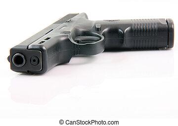 isolated gun