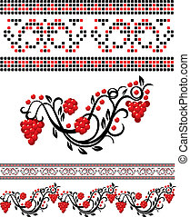 Vector Ukrainian Pattern - Vector traditional ukrainian...