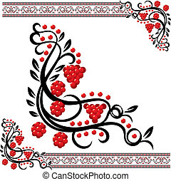 Vector Ukrainian Pattern - Vector traditional ukrainian...