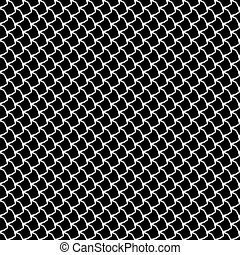 Seamless fish scales texture.