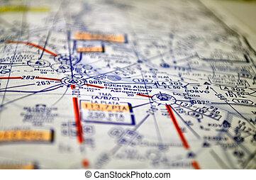 Air navigation chart (Argentina) - Air navigation chart:...