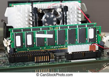 Extreme close up of hardware