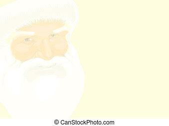 Father Christmas illustration - Father Christmas vector...