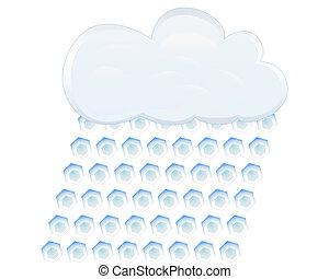 icon hail