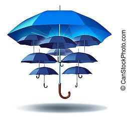 empresa / negocio, grupo, protección