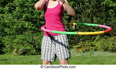 woman nipple waist sport