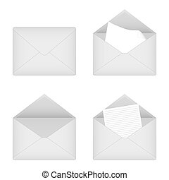 four envelopes