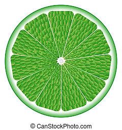 lime circle