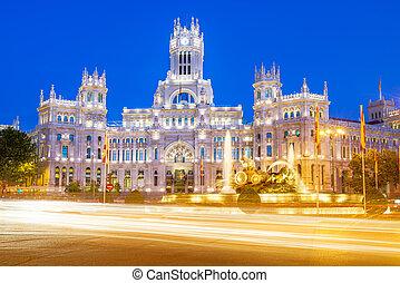 Plaza de la Cibeles Madrid - Plaza de la Cibeles Cybeles...