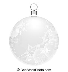Christmas bauble for your design.