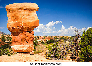 Rock Formation - Rock formation at Devils Garden
