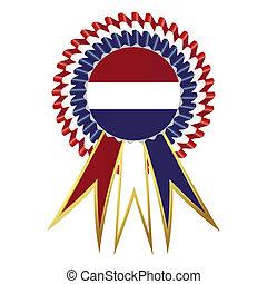 """Satin prize medal, """"Netherlands"""""""