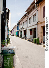Chinatown Back Alley - A back alley in china town, singapore