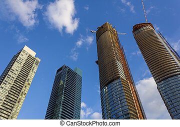 Condo construction in Canada