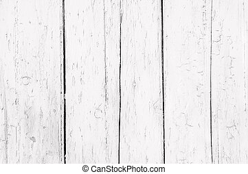 Weathered white wood - Background of weathered white painted...