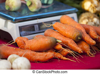 Farmers Market Produce - Farmers market produce up close.