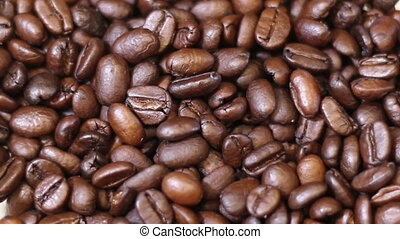 Coffee Fast Speed Grind, coffee beans rattle and shake down...