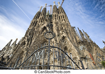 Sagrada Familia in Barcelona - europe, Spain, Sagrada...