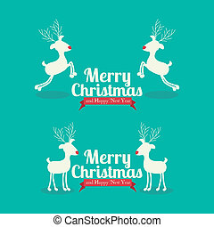 christmas and happy new year - christmas and happy new year...