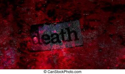 Death Word Looping Background - Death Word Looping...