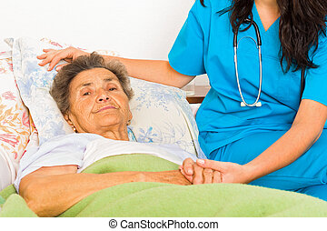 Social Care at Home - Social care nurse for elderly patients...