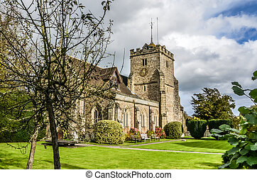 Stone Church Warnham Sussex England UK