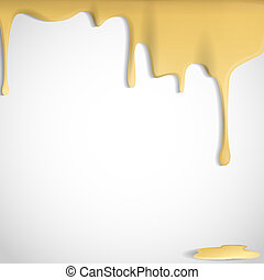 Yellow Cheese Background Vector Illustration Eps 10