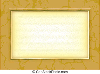 Background with frame - Background for a certificate,...