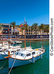 Puerto Andratx, Majorca, Spain - Sailing Boats in Puerto...