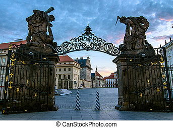 Matthias gate - Matthias Gate, at Hradcany Castle...