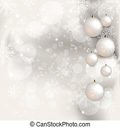 Christmas Background - Illustration - Background with...