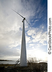 Renewable energy - Symbolic picture showing alternative...