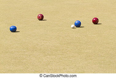lawn bowls - Bowls or lawn bowls is a sport played on...