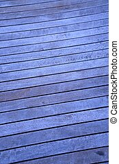 Wooden Decking - A close up shot of wooden timber decking