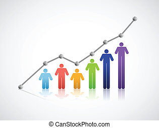 diversity people successful graph