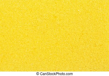 yellow sponge for background