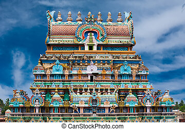 Sri Ranganathaswamy Temple. India - Great South Indian...