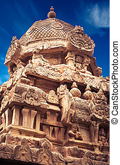 Great architecture of Hindu Temple dedicated to Shiva....