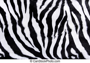 Zebra skin pattern - Texture of zebra skin ready to use for...
