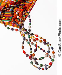 African Beads and Kente Cloth