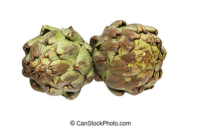 artichokes - The globe artichoke is a variety of a species...