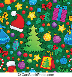 Christmas seamless background 2 - eps10 vector illustration.