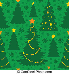 Christmas seamless background 5 - eps10 vector illustration