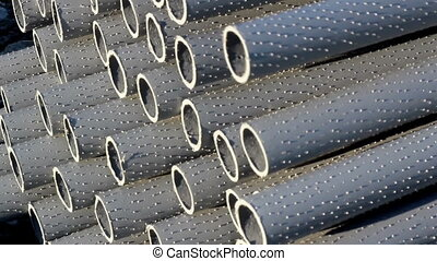 Pipes are properly bundled - Bundle of pipes can be found in...