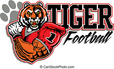 tiger football design  - tiger football design