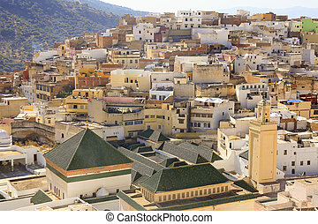 Moulay Idriss is the most holy town in Morocco. It was here...